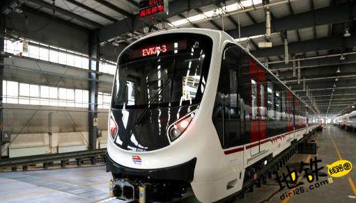 中国中车出口土耳其伊兹密尔地铁全部启运出国