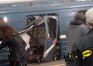 俄罗斯圣彼得堡地铁站发生爆炸