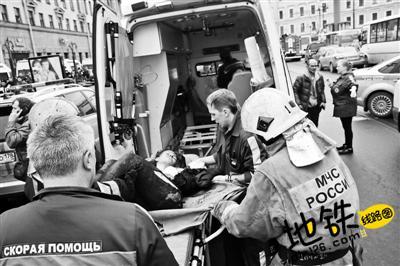 俄地铁发生爆炸 至少60人伤亡