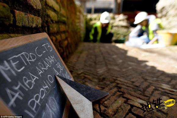 罗马修地铁挖出文物 将移至地铁站永久展出