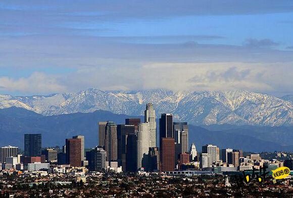 """中国地铁落户""""天使之城""""洛杉矶"""