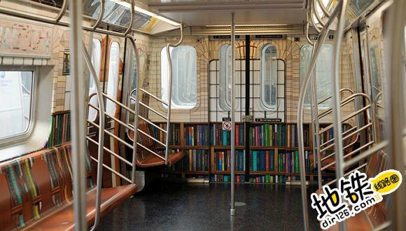 纽约有了一列图书馆地铁