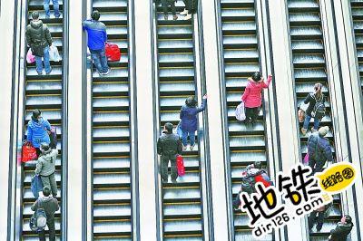 地铁站这些乘梯习惯,80%的童鞋都有过