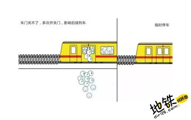 早高峰,地铁车站为什么要客流控制? 客流控制 早高峰 地铁站 地铁 轨道知识  第5张