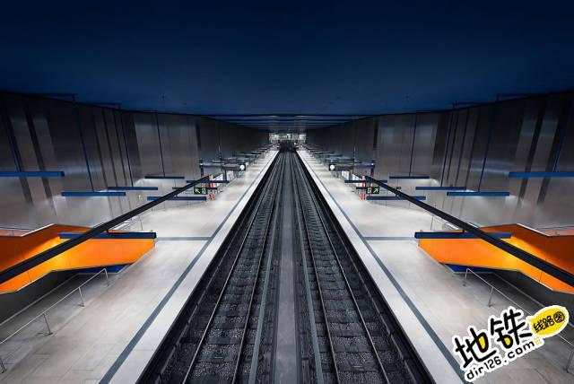 各国地铁的超现实之美