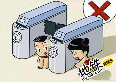 论带小孩过闸机的正确姿势