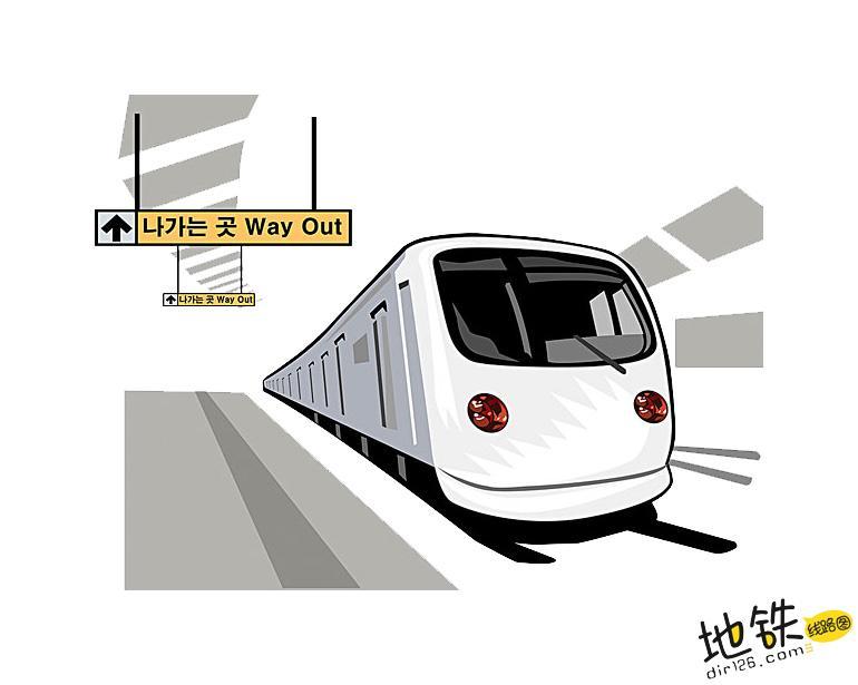 乘坐地铁的一些注意事项 注意事项 乘坐地铁 坐地铁 地铁站 地铁线路图 地铁 轨道动态  第2张