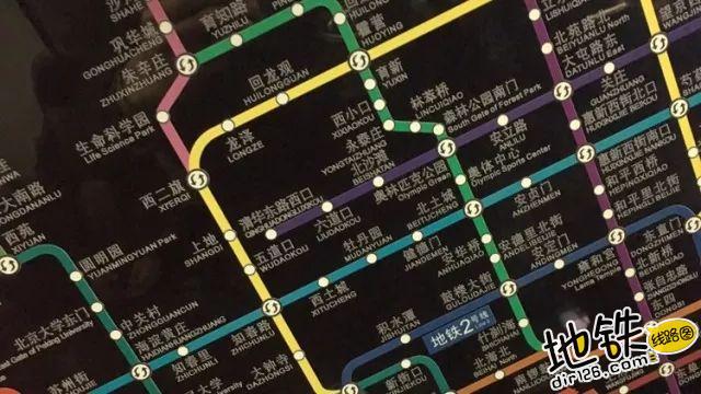 关于地铁线路图可读性的思考 广告 可读性 地铁线路图 地铁 轨道知识  第2张