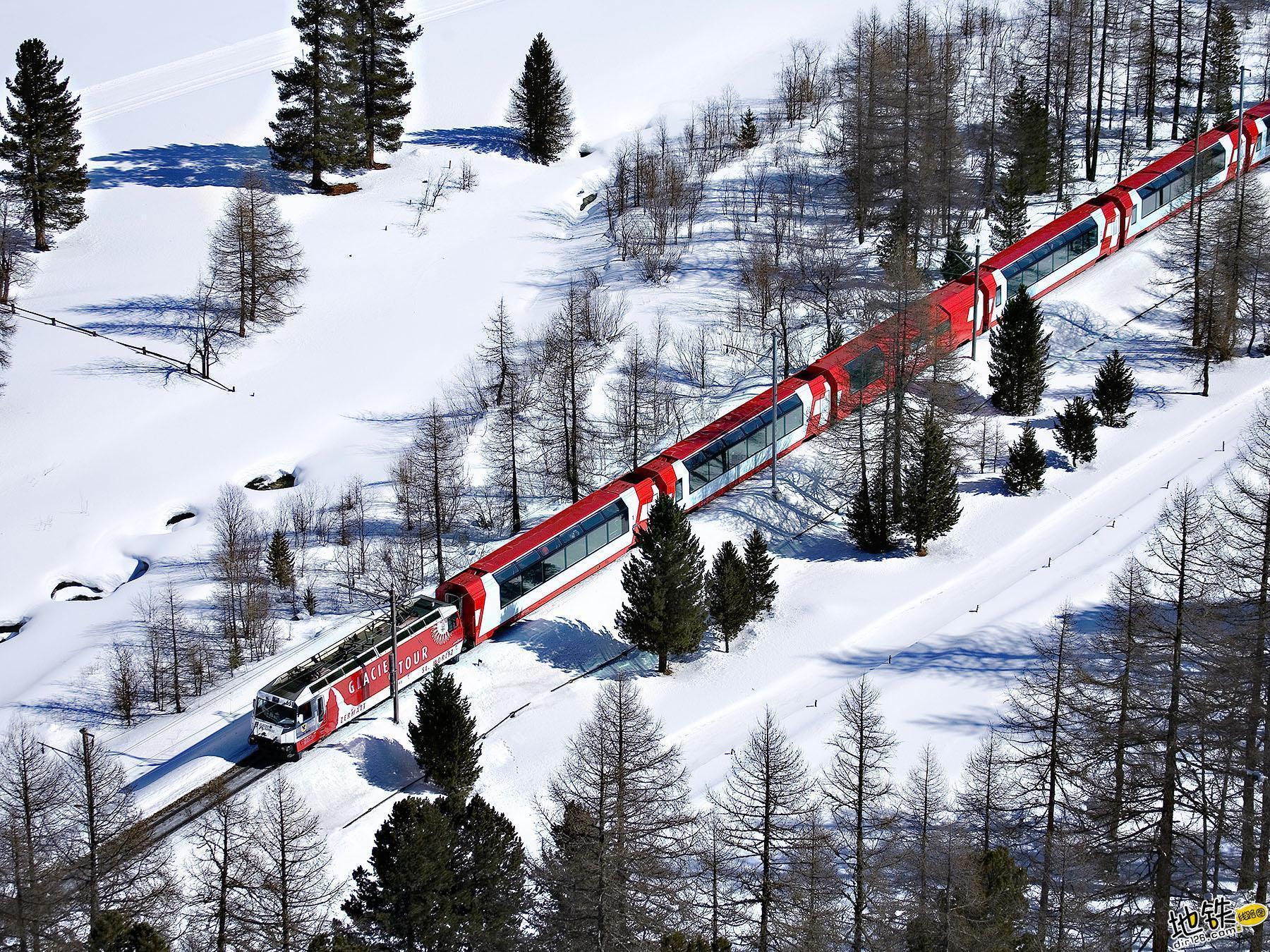 世界上最慢的火车:8小时行驶290公里,乘客却抱怨开太快 瑞士 冰川火车 全球 世界 最慢火车 轨道动态  第1张