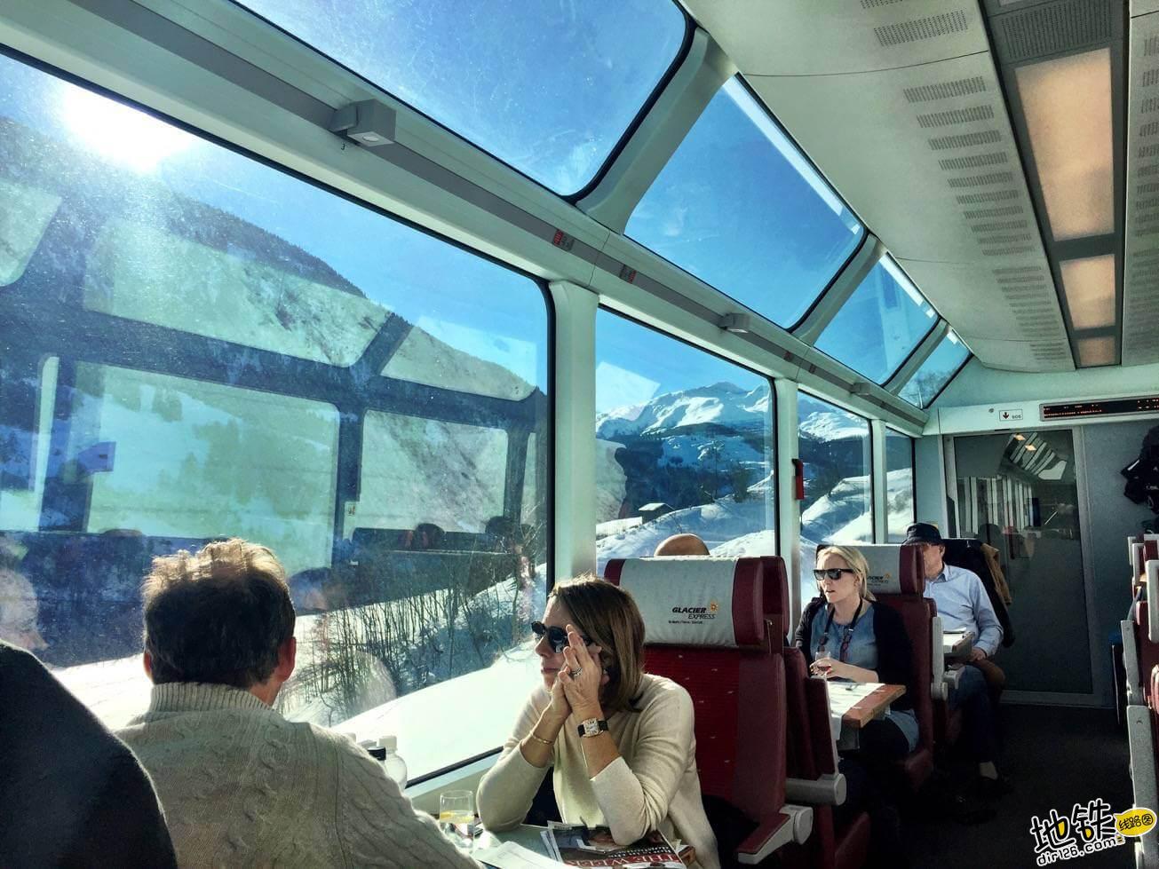 世界上最慢的火车:8小时行驶290公里,乘客却抱怨开太快 瑞士 冰川火车 全球 世界 最慢火车 轨道动态  第3张