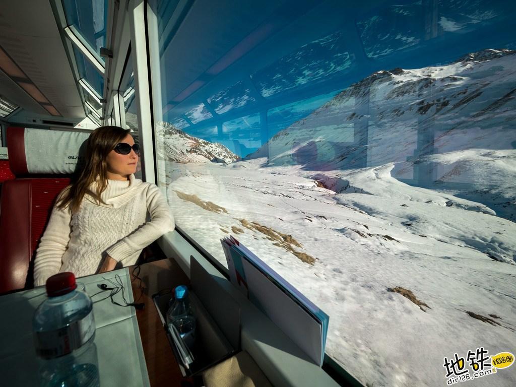 世界上最慢的火车:8小时行驶290公里,乘客却抱怨开太快 瑞士 冰川火车 全球 世界 最慢火车 轨道动态  第5张