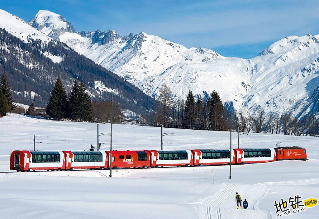 世界上最慢的火车:8小时行驶290公里,乘客却抱怨开太快 瑞士 冰川火车 全球 世界 最慢火车 轨道动态  第6张