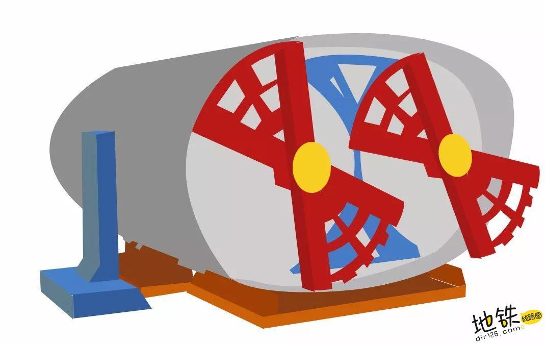 地铁隧道是圆的还是方的? 盾构机 盾构 明挖 隧道 地铁 轨道知识  第5张