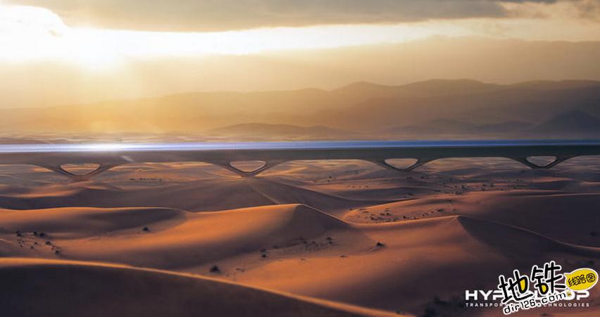 全球首条商业性超级高铁将落户阿联酋 2020年投入运营 迪拜 阿布扎比 轨道 超级高铁 阿联酋 轨道动态  第1张
