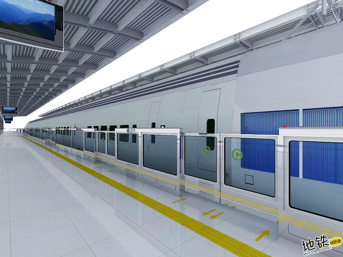地铁屏蔽门的相关知识 乘客 轨行区 屏蔽门 地铁站台 地铁 轨道知识  第1张