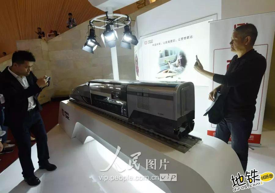 洲际概念高铁列车首次在国内展出 最低时速400公里 互联互通 列车 中国中车 洲际高铁 轨道动态  第4张