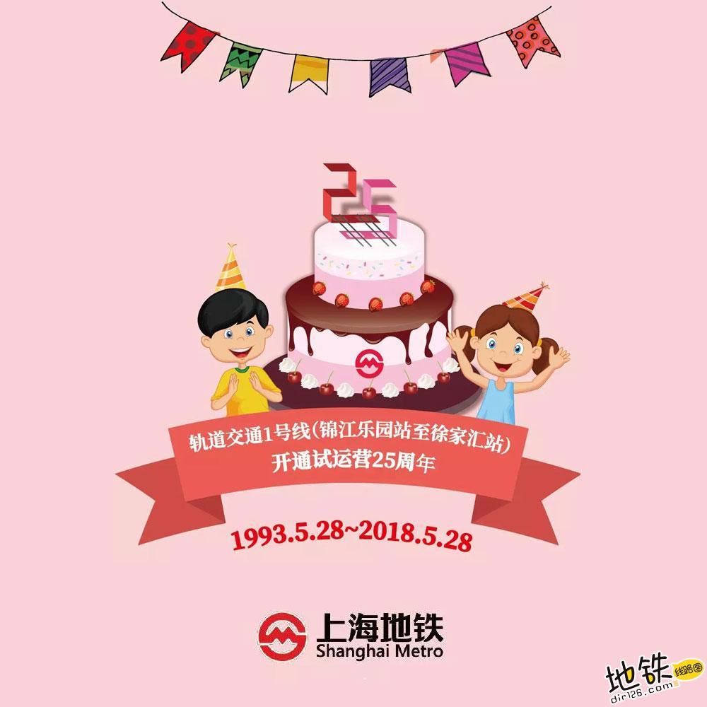 """上海地铁:25岁生日快乐!""""八爪鱼""""成长记 轨道交通 历史 1号线 25周年 上海地铁 轨道动态  第1张"""