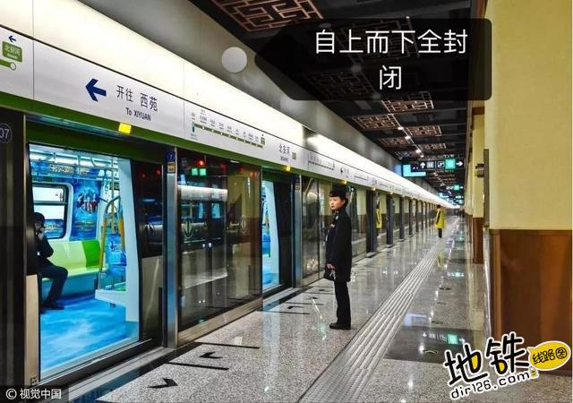 """不可不看的地铁""""门""""道 固定门 端门 应急门 滑动门 屏蔽门 地铁 轨道知识  第2张"""