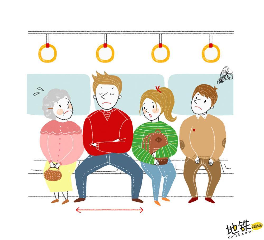 """地铁小伙霸气叫""""时髦""""女子让座,女子回答引网友热议!"""