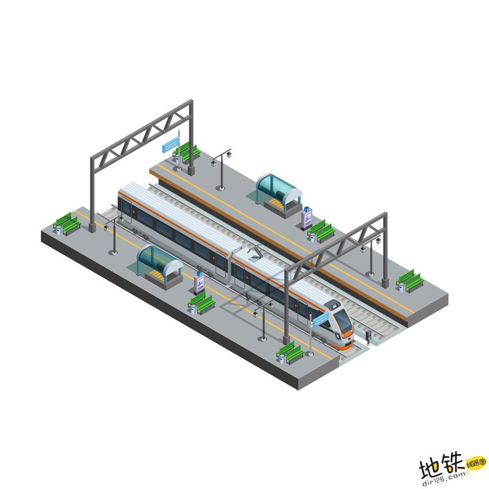 城轨地铁网络和大铁路网络有何本质不同? 列车 客流 运营 网络 地铁 轨道知识  第1张