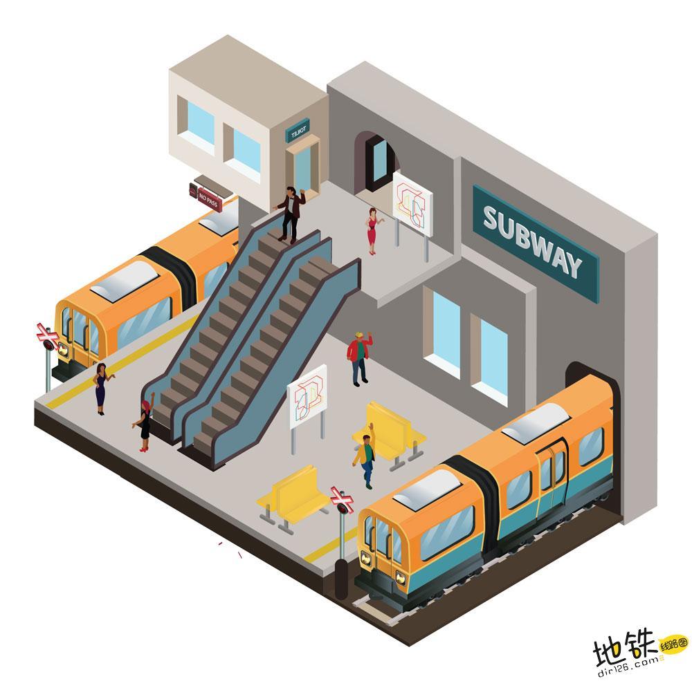 城轨地铁网络和大铁路网络有何本质不同? 列车 客流 运营 网络 地铁 轨道知识  第2张