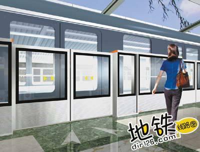 地铁车门和电梯桥厢门在运作上有何不同? 列车 桥厢门 屏蔽门 电梯 地铁 轨道知识  第2张