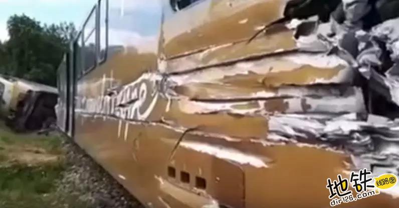 奥地利一列车发生脱轨 数十人受伤 受伤 乘客 脱轨 列车 奥地利 轨道动态  第2张