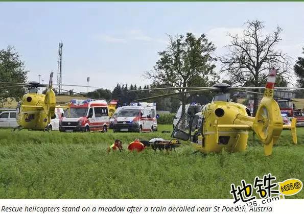 奥地利一列车发生脱轨 数十人受伤 受伤 乘客 脱轨 列车 奥地利 轨道动态  第4张