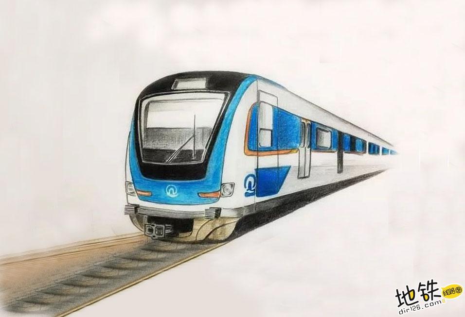 地铁列车自主运行地铁来了,青岛6号线!