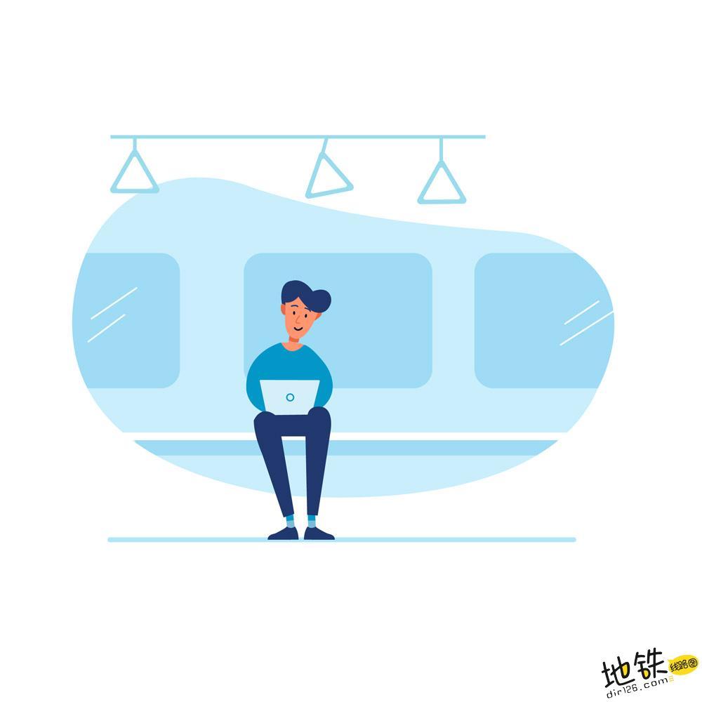 """地铁""""行车间隔""""是什么? 车站 客流 列车 间隔 地铁 轨道知识  第2张"""