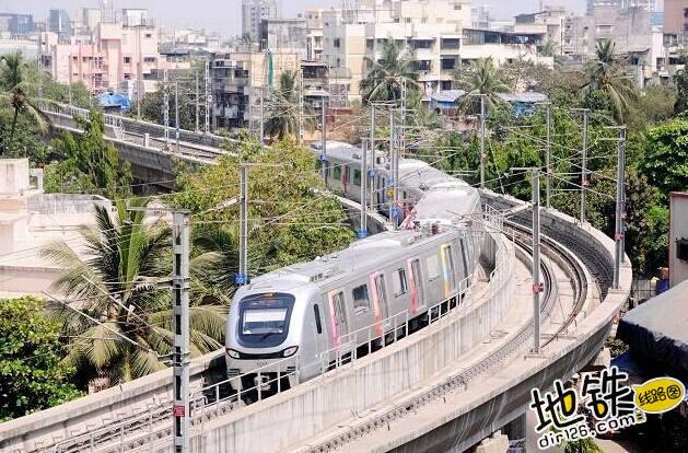 """印度孟买地铁:""""曾经有人质疑,事实证明中国列车值得信赖"""" 中车 印度 地铁 中国 孟买 轨道动态  第1张"""