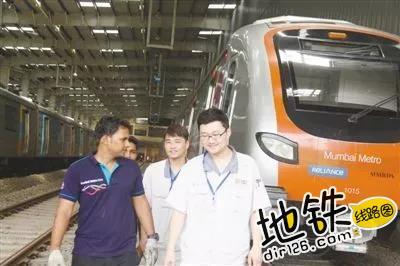 """印度孟买地铁:""""曾经有人质疑,事实证明中国列车值得信赖"""" 中车 印度 地铁 中国 孟买 轨道动态  第4张"""