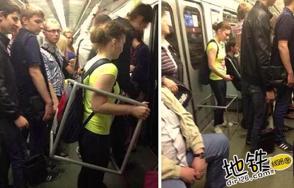 """开心一刻:地铁上的""""怪人"""",请开始你们的表演! 怪人 地铁 交通 城市 轨道休闲  第7张"""
