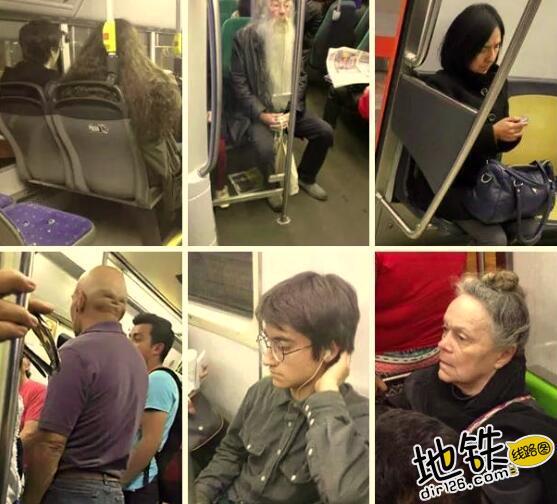 """开心一刻:地铁上的""""怪人"""",请开始你们的表演! 怪人 地铁 交通 城市 轨道休闲  第2张"""