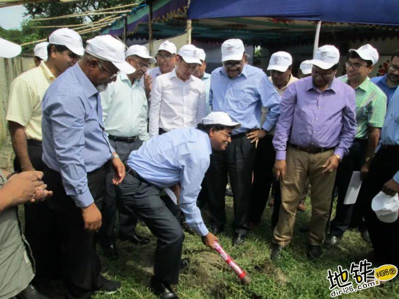 中国中车首座海外变电站成功交付 交接 DPDC 孟加拉国 变电站 中车 轨道动态  第2张