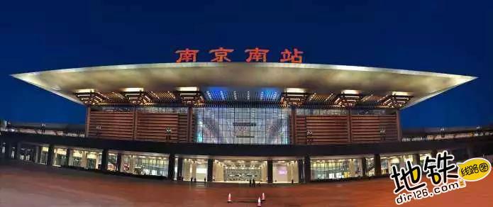 中国唯一仿宫殿火车站,投资300亿光规划就花了17年 宫殿 高铁 交通 南京南站 火车站 轨道动态  第2张