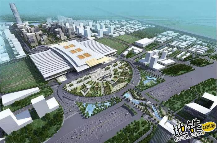 中国唯一仿宫殿火车站,投资300亿光规划就花了17年 宫殿 高铁 交通 南京南站 火车站 轨道动态  第3张