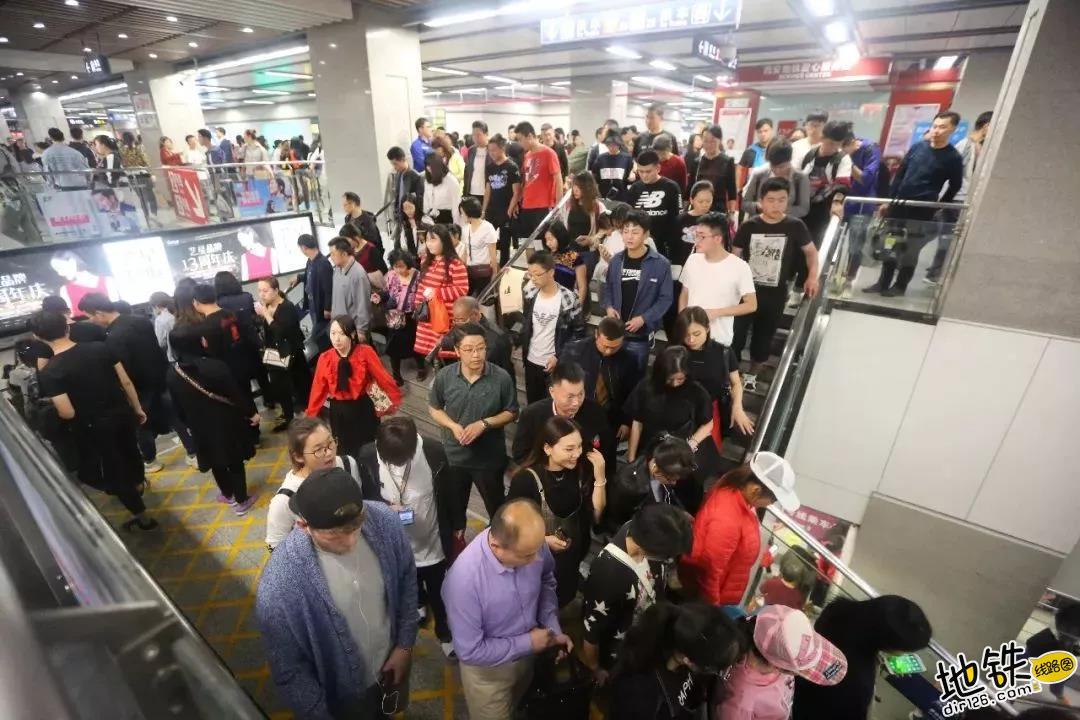 国庆期间各地 地铁客运量参考 乘客 客流 客运量 地铁 国庆 轨道客流 · Rail Passenger Flow  第8张