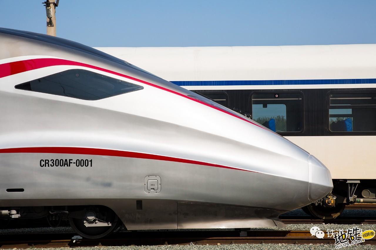 新车速递 CR300AF帅酷高清大图 转向架 动车组 中车 复兴号 CR300AF 轨道动态  第3张