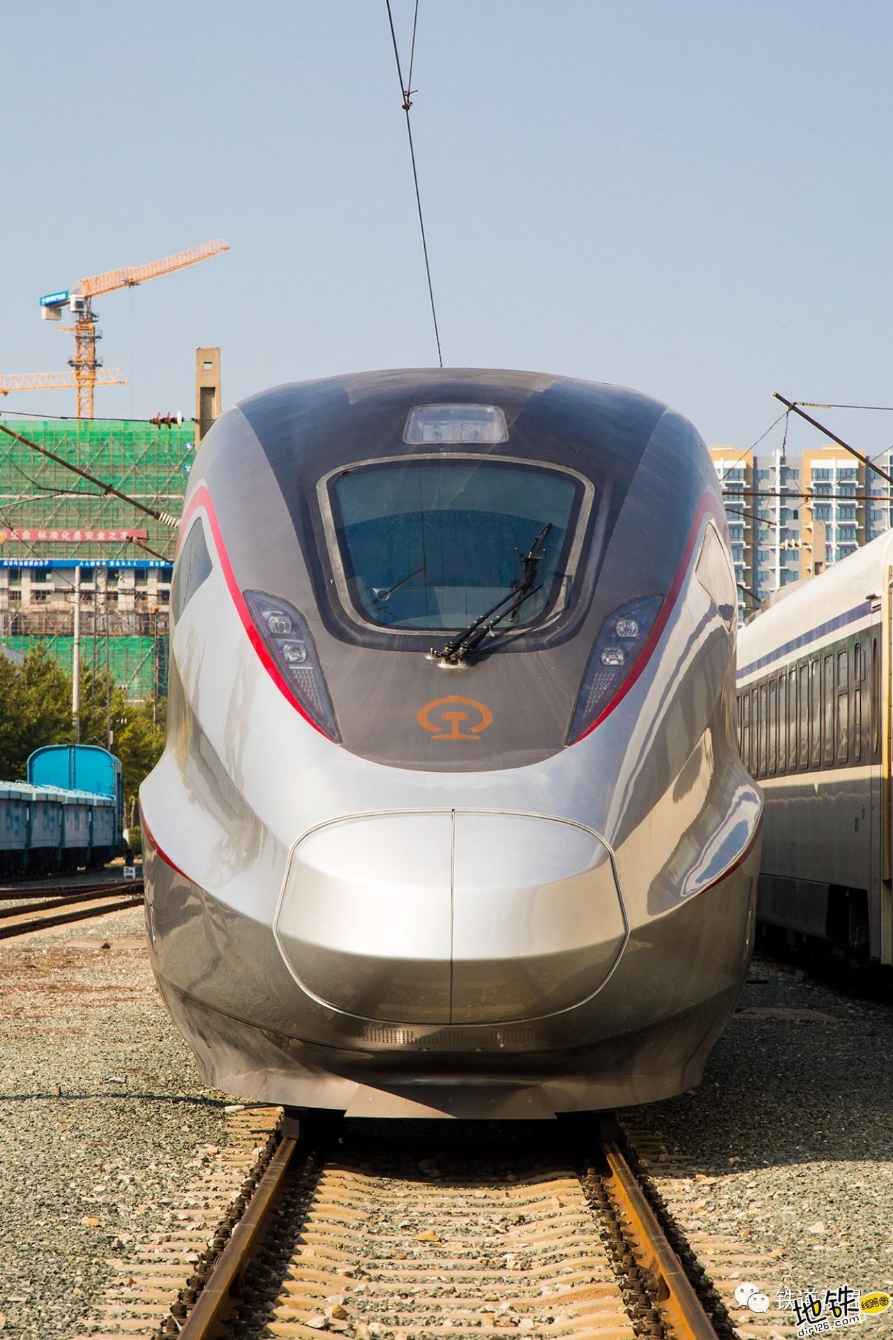 新车速递 CR300AF帅酷高清大图 转向架 动车组 中车 复兴号 CR300AF 轨道动态  第6张