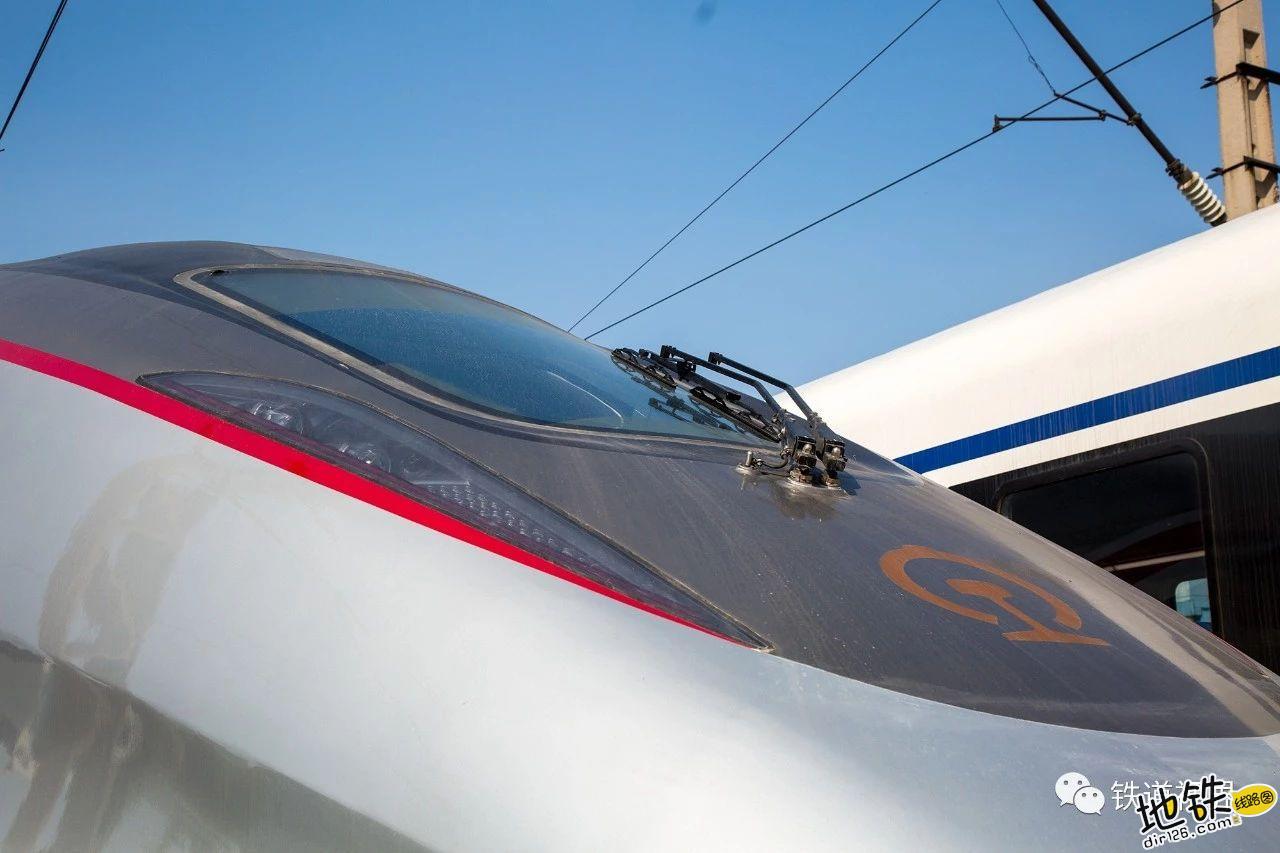 新车速递 CR300AF帅酷高清大图 转向架 动车组 中车 复兴号 CR300AF 轨道动态  第7张