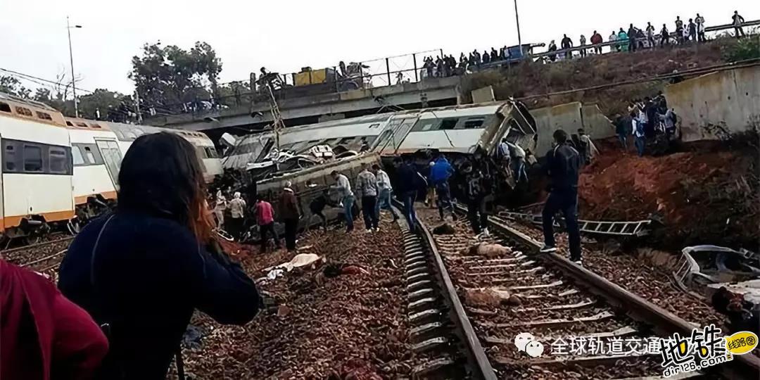 摩洛哥双层列车出轨 国王承诺承担一切伤者费用 穆罕默德 事故 列车 出轨 摩洛哥 轨道动态  第2张