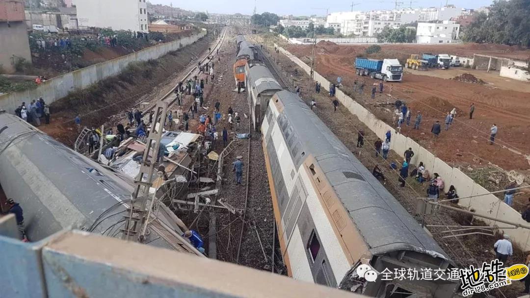 摩洛哥双层列车出轨 国王承诺承担一切伤者费用 穆罕默德 事故 列车 出轨 摩洛哥 轨道动态  第6张