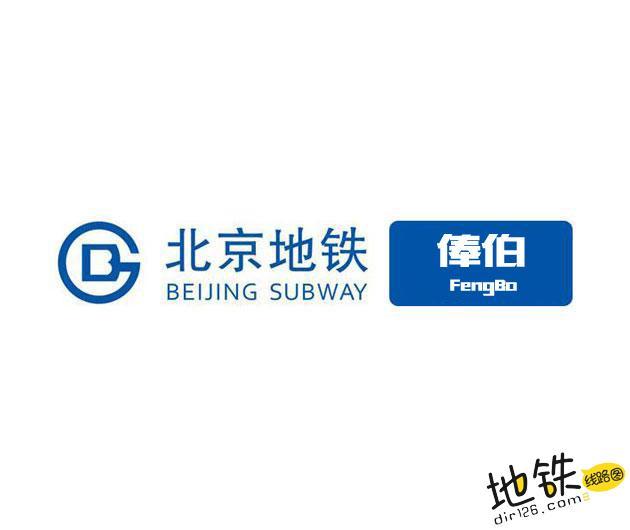 俸伯地铁站 北京地铁俸伯站出入口 地图信息查询  北京地铁站  第1张