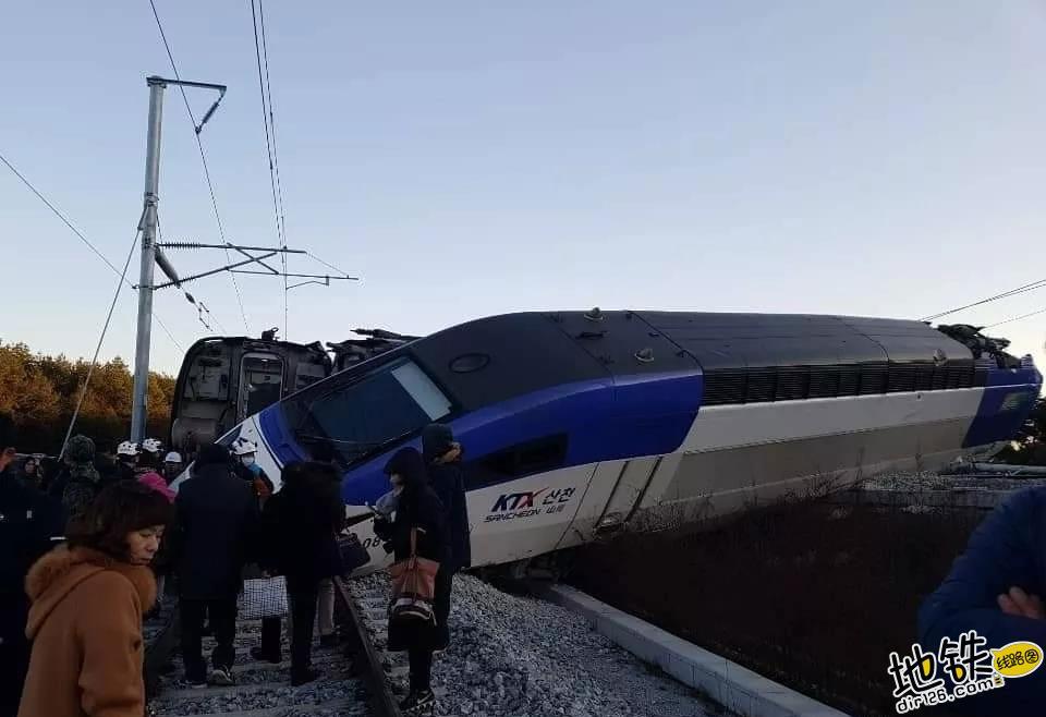 突发!韩国高铁江陵线脱轨,14人受伤!
