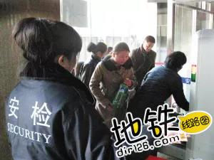 国内首创:天津站铁路地铁换乘只需安检1次! 地铁 乘客 旅客 火车站 安检 轨道动态  第2张