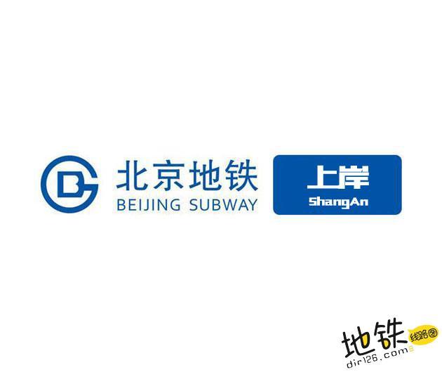 上岸地铁站 北京地铁上岸站出入口 地图信息查询  北京地铁站  第1张