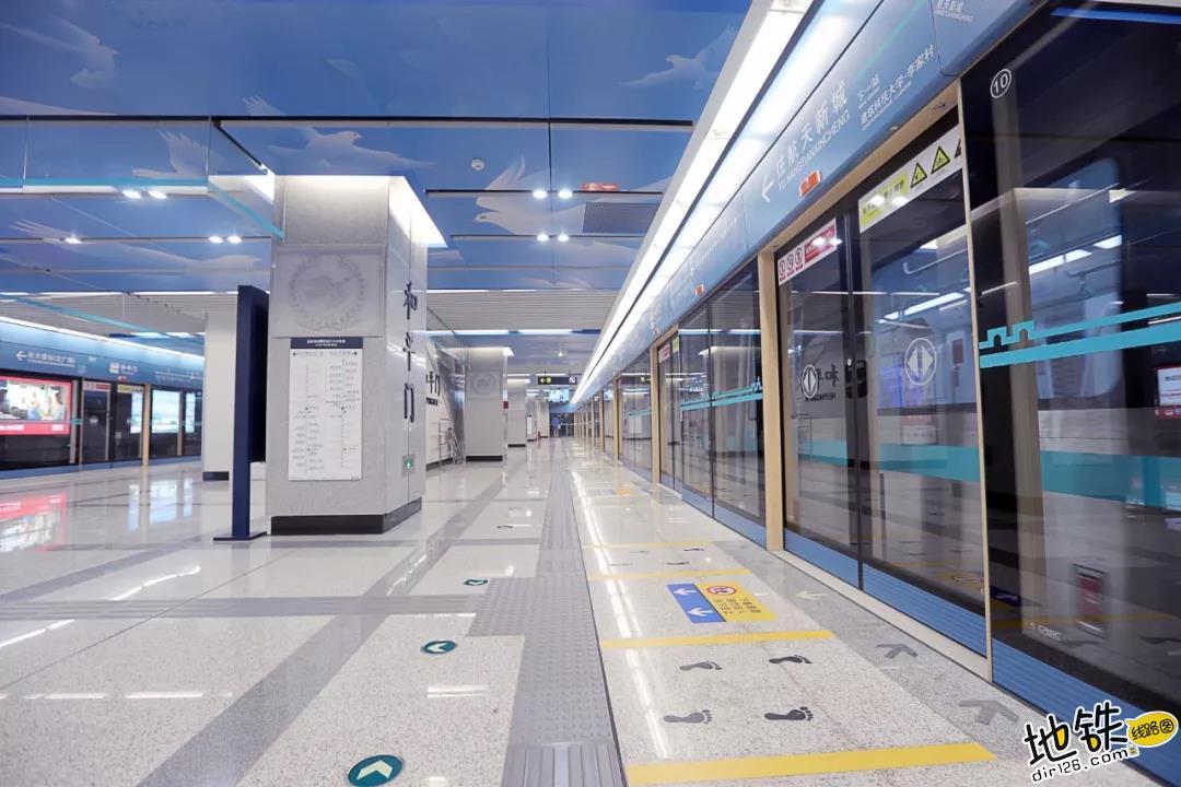 西安地铁四号线 今日上午10时开通试运营 换乘 建设 试运营 4号线 西安地铁 轨道动态  第5张