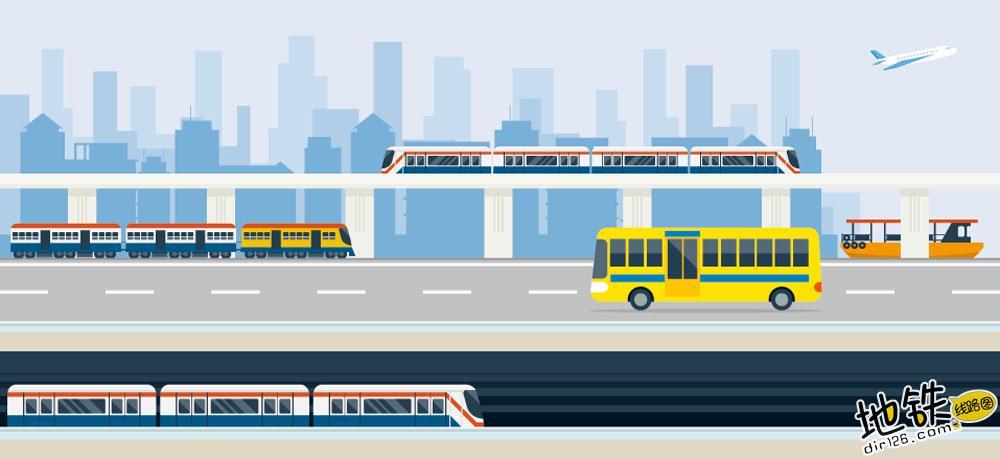 2019年国内计划开工城市轨道交通地铁项目大全