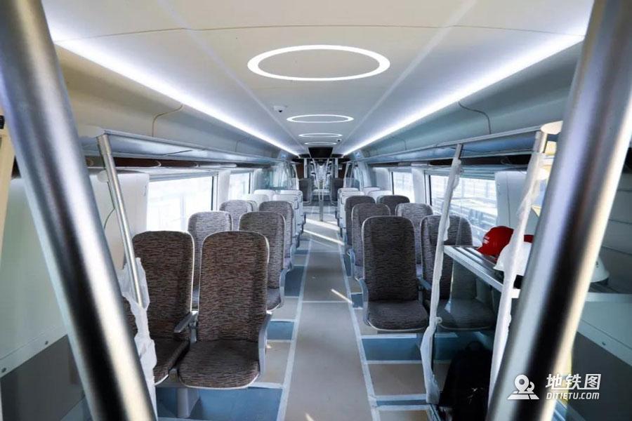 北京地铁机场线无人驾驶白鲸号来了!时速160公里 动车组 自动驾驶 列车 白鲸号 北京地铁 轨道动态  第3张